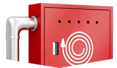 Linha de Abrigos para Hidrantes e Extintores Metalcasty