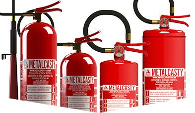 Linha de Extintores Metalcasty