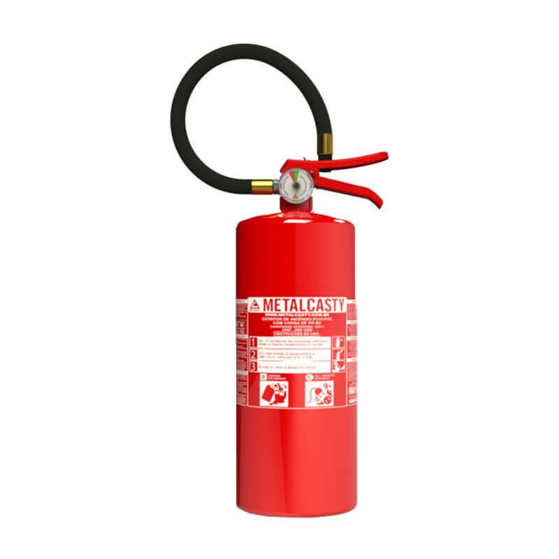 5036f1121e88c Extintor de Pó Químico BC - Metalcasty  Soluções em Combate a Incêndios