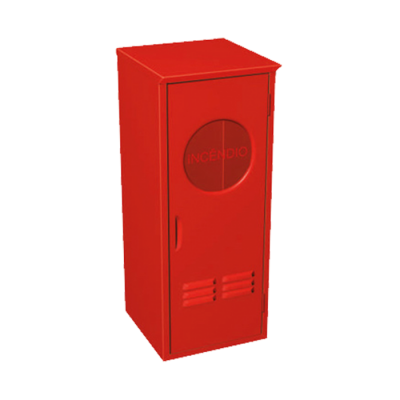 Abrigo para Extintor de incêndio Metalcasty