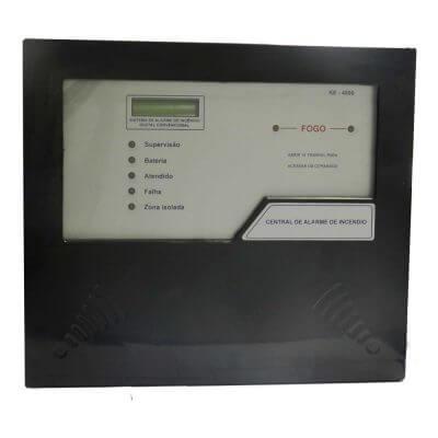 central de alarme convencional ke4800 - Metalcasty