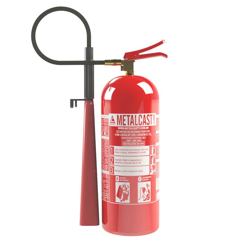 fc1be567d6d6a Extintor de CO2 - Metalcasty  Soluções em Combate a Incêndios
